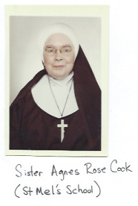 Sister Agnes Rose Cook