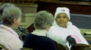 """Dreamcatcher Foundation co-founder Brenda Myers Powell was the guest speaker at """"Slavery Still Exists,"""" an awareness program sponsored by the Illinois Women Religious Against Human Trafficking on Jan. 10-11."""
