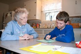 Just months before her death, Sister Jean Arkenberg (RIP) was still serving strong as a tutor at Educational/Family Services in 2008. She had tutored there for at least 10 years.