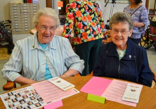 Sister Louise Schroeder and Sister Patty McIntyre