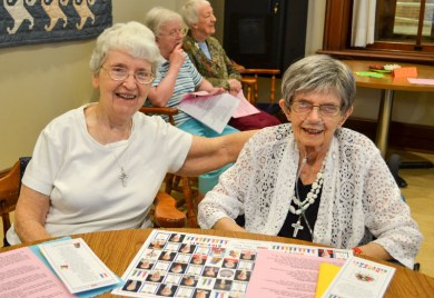 Sister Margaret Quinlan and Sister Ann Kevin O'Connor