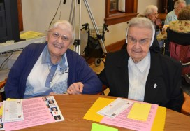 Sister Agnes Eugene Cordak and Sister Helen Therese Conway