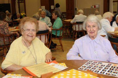 Sister Regina Norris and Sister Charles Ellen Turk
