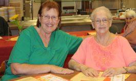 Sharon Brockmeier and Sibbie Jackson