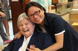 Sister Marian Ruth Johnson and Sister My Huong Pham, OP