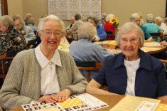 Sister Marie David Schroeder and Sister Mary Ann Lechner