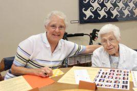 Sister Joanne Golding and Sister Martha Steidl