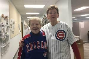 Sister Nancy Nolan and General Superior Sister Dawn Tomaszewski