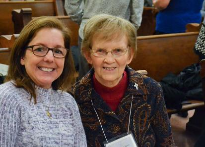 Providence Associate Cathy Dearing and her companion Theresa Clare Carr