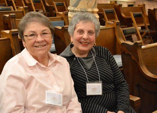 Sister Ann Sullivan with Annette Maggio