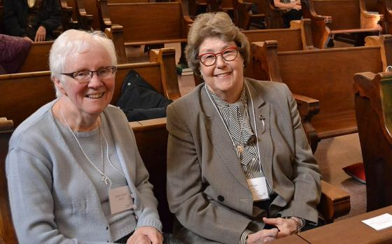 Sister Joan Slobig spent the year as the companion to Providence Associate Kathryn Martin