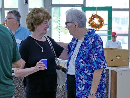 Pat Etling catches up with Sister Ann Casper.