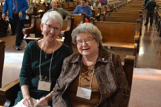 New Providence Associate Carol Sloan and her companion Sister Kay Kelly