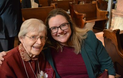 Sister companion Rosemary Borntrager and new Providence Associate Jessica Claycomb