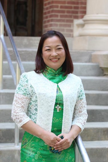 Sister Teresa Kang professed first vows