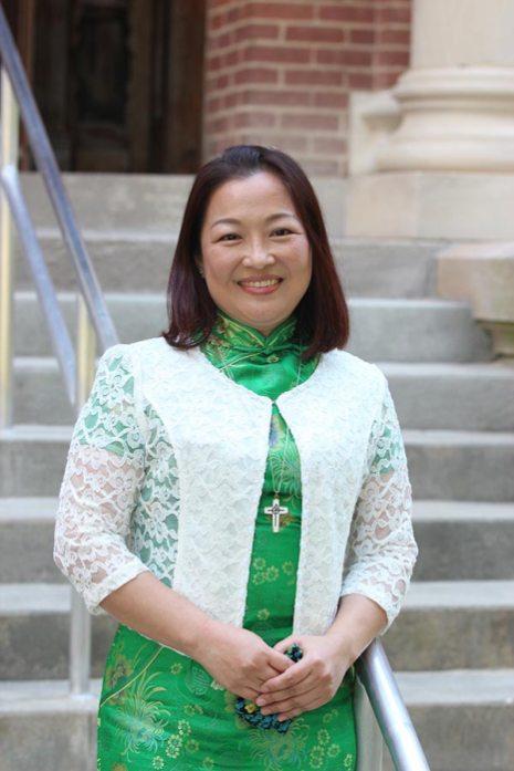Sister Teresa Kang professed first vows