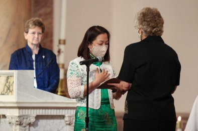 Sister Teresa professes first vows