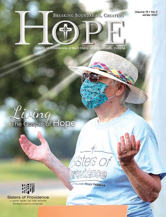 HOPE winter 2021 — Living the Gospel of Hope