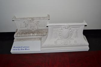Plaster Capitals from Le Fer Hall.