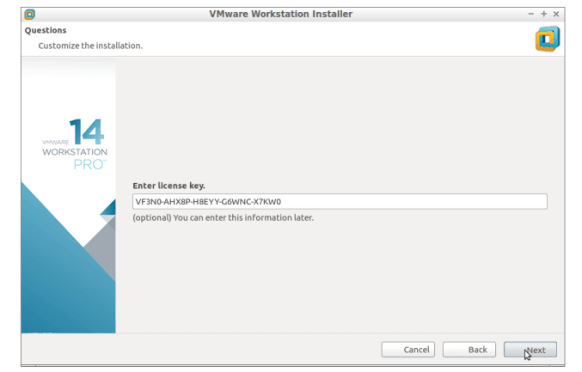 VMware Workstation Pro 14.1.1 Crack
