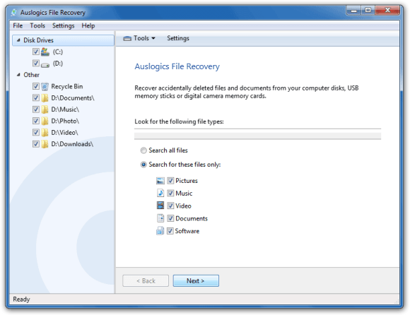 Auslogics File Recovery 7 Crack