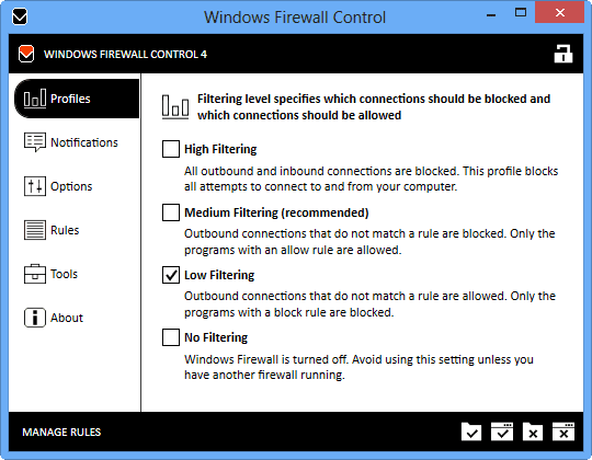 Windows Firewall Control 5.3.0.0 Crack