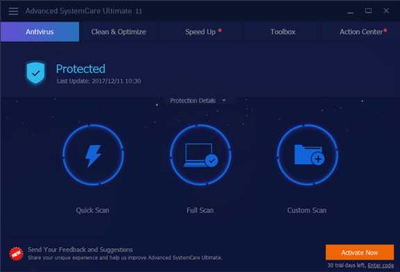 Advanced SystemCare Ultimate 11.0.1.59 Crack