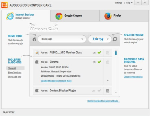 Auslogics Browser Care 5.0.8.0 Crack