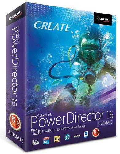 CyberLink PowerDirector 16.0.2730.0 Crack