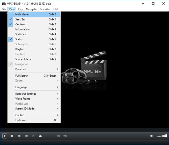 Media Player Classic Black Edition Portable 1.5.1