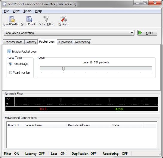 SoftPerfect Connection Emulator 1.7.9 Crack