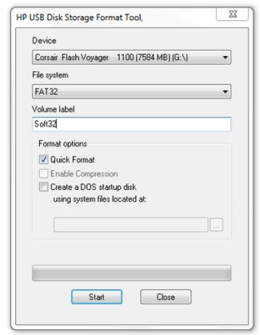USB Disk Storage Format Tool 6.0 Build 512