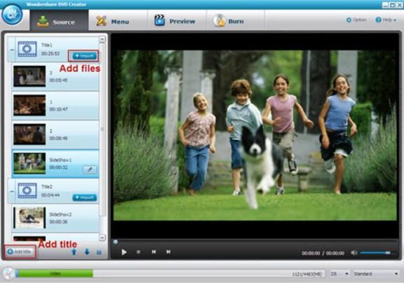 Wondershare DVD Creator 4.5.1 Crack