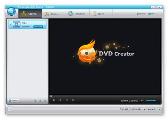 Wondershare DVD Creator 4.5.1 Crack