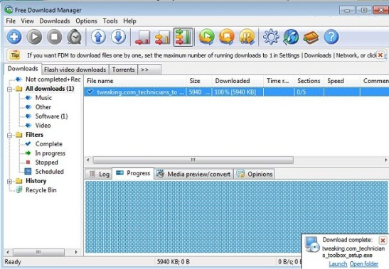 Free Download Manager 5.1.35