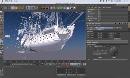 Maxon CINEMA 4D Studio R19 Crack
