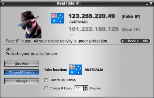 Real Hide IP Crack & Keygen