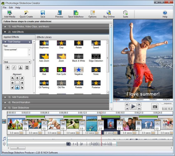 PhotoStage Free Photo Slideshow 5.10 Crack