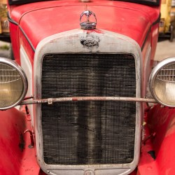 Antique Ford - The Way We Were car show in Ballston Spa 2016