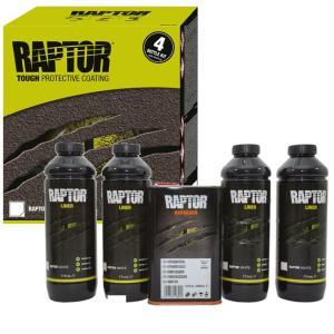 UPOL RAPTOR Bed Liner & Protective Coating \ 4 BOTTLE KIT