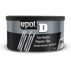 A versatile polyester filler reinforced with aluminium flakes for high adhesion across multiple substrates. Ideal for metallic alloy wheels, aluminium panels or restorations for a metallic finish.