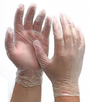 Powder Free Vinyl Gloves Large (Boxed 1000)