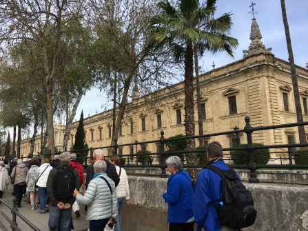 The old tobacco factory, the University of Seville.