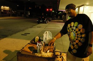 Hot dog vendor
