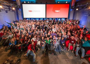 TEDPrize Winner- David Isay, TEDActive 2015 - Truth and Dare, March 16-20, 2015, Whistler Convention Centre, Whistler, Canada. Photo: Marla Aufmuth/TED