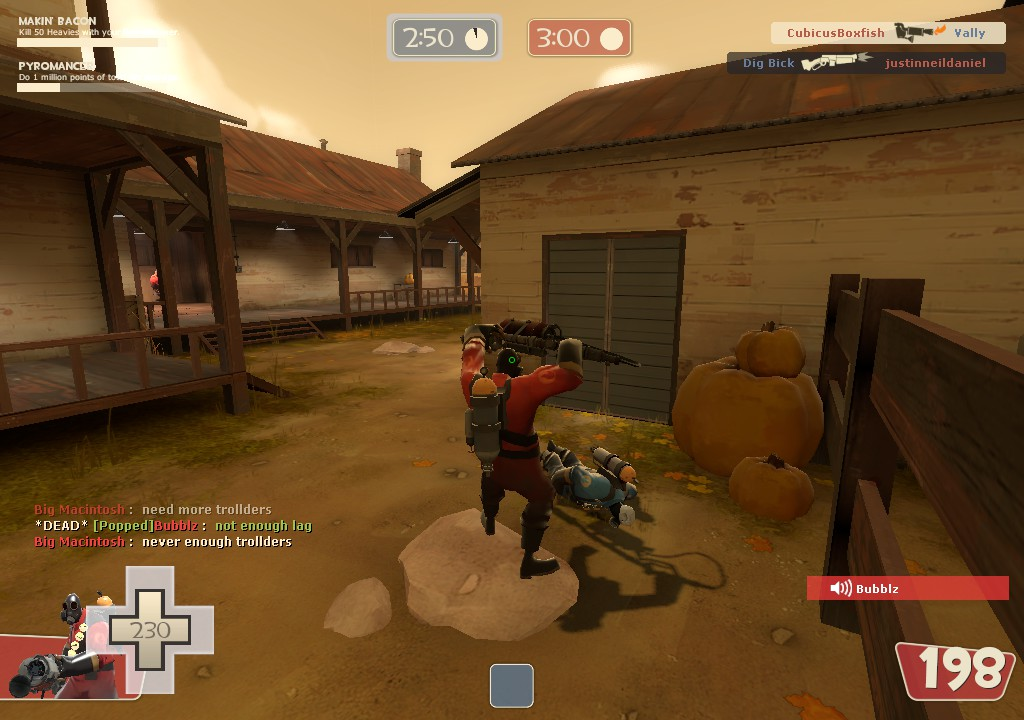 Spamming the degreaser against an enemy outside your spawn while you have a pocket medic in spawn is an optimal way to get kills with this loadout.