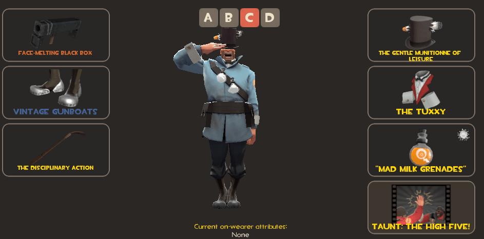 BLU Soldier