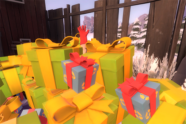 Drowning in presents