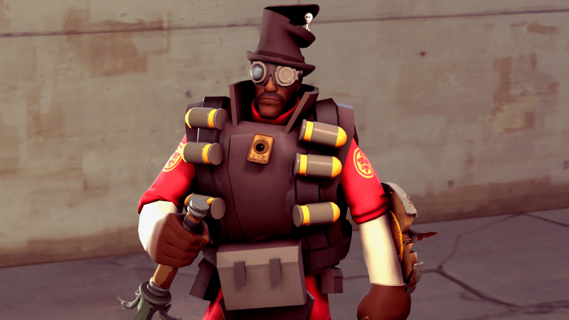 Guess it's time to play Demoknight the way Valve meant it to be played.