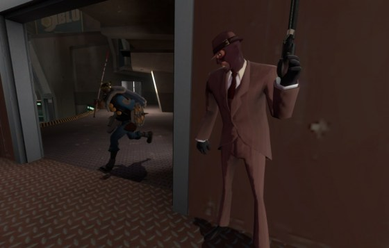 """Can this Demoman do a 180 and hit me? I have no idea..."""